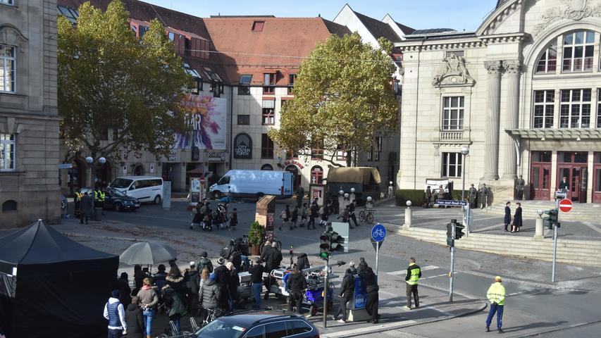 Direkt am Filmset: So war der Hollywood-Dreh in Fürth