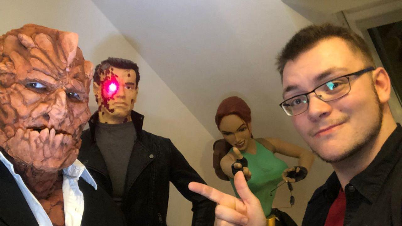 Willkommen in der Welt der Superhelden: Der Roßtaler Regisseur Davide Grisolia (rechts) hat einen