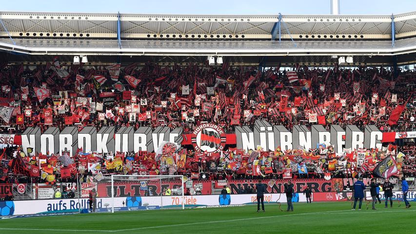 Trotz Choreo und Courage: FCN kommt gegen VfB nicht in Fahrt