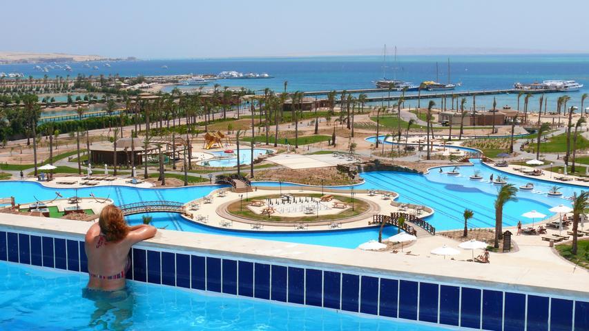 Klassischer Pauschalurlaub in Hurghada, Ägypten. Auch das nordafrikanische Land gilt noch als Hochrisikogebiet.