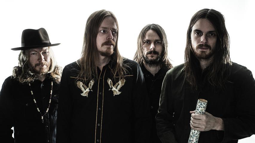 2016 aufgelöst, 2017 wiedervereint , 2019 bei Rock im Park. Die schwedische Band Graveyard überzeugt mit einer Mischung aus Psychedelic- und Hardrock.