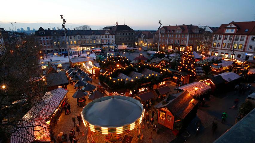 Von Ansbach bis Zirndorf: Die schönsten Weihnachtsmärkte der Region