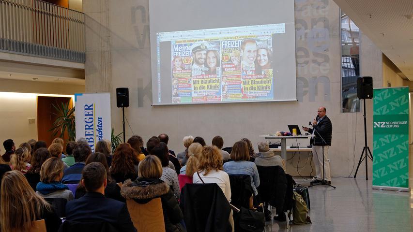 RESSORT: Lokales..DATUM: 21.11.18..FOTO: Michael Matejka ..MOTIV: Lehrermedientag der Nürnberger Nachrichten und der Nürnberger Zeitung in der Berufliche Schule 9..ANZAHL: 1 von 21..