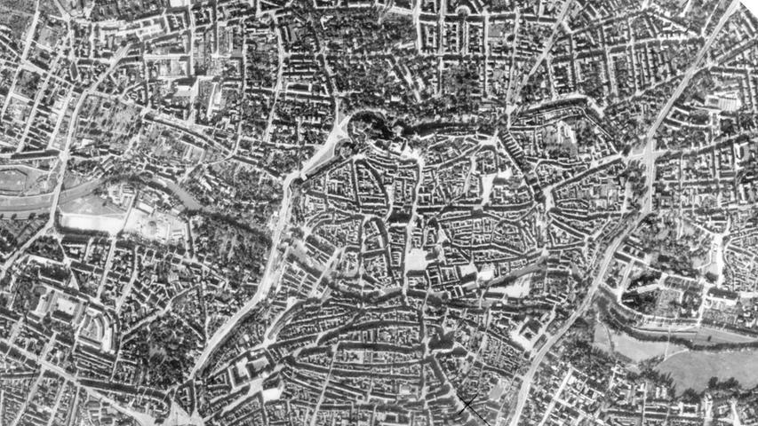 Luftbilder: So sehr hat Nürnberg sich verändert
