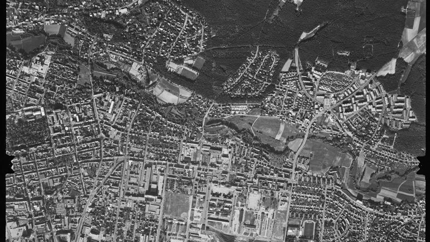 Nachdem Sieglitzhof (rechts oben) immer weiter gewachsen war...