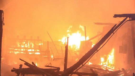 Brand verwüstet Schreinerei in Burghaslach
