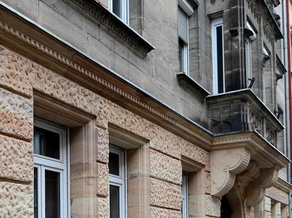 Auch das Gebäude Ludwigstraße 42 wurde generalsaniert.