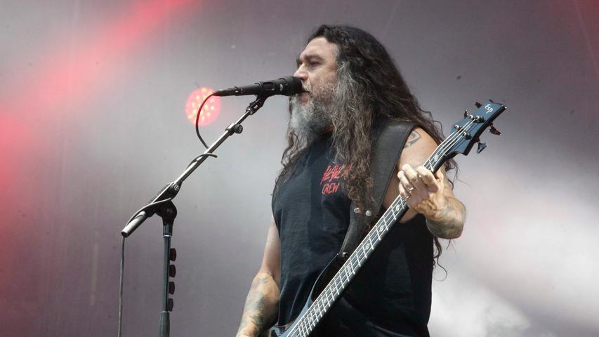 Bevor Slayer sich auflösen touren sie ein letztes Mal durch die Welt. Auf ihrer finalen Tournee legen die Metal-Ikonen auch einen Stopp in Nürnberg ein.