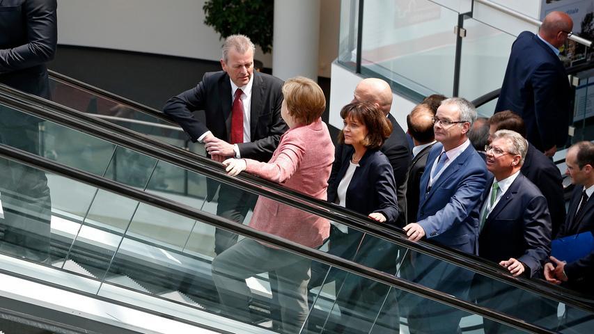 Merkel-Momente in Nürnberg: Besuche der Kanzlerin