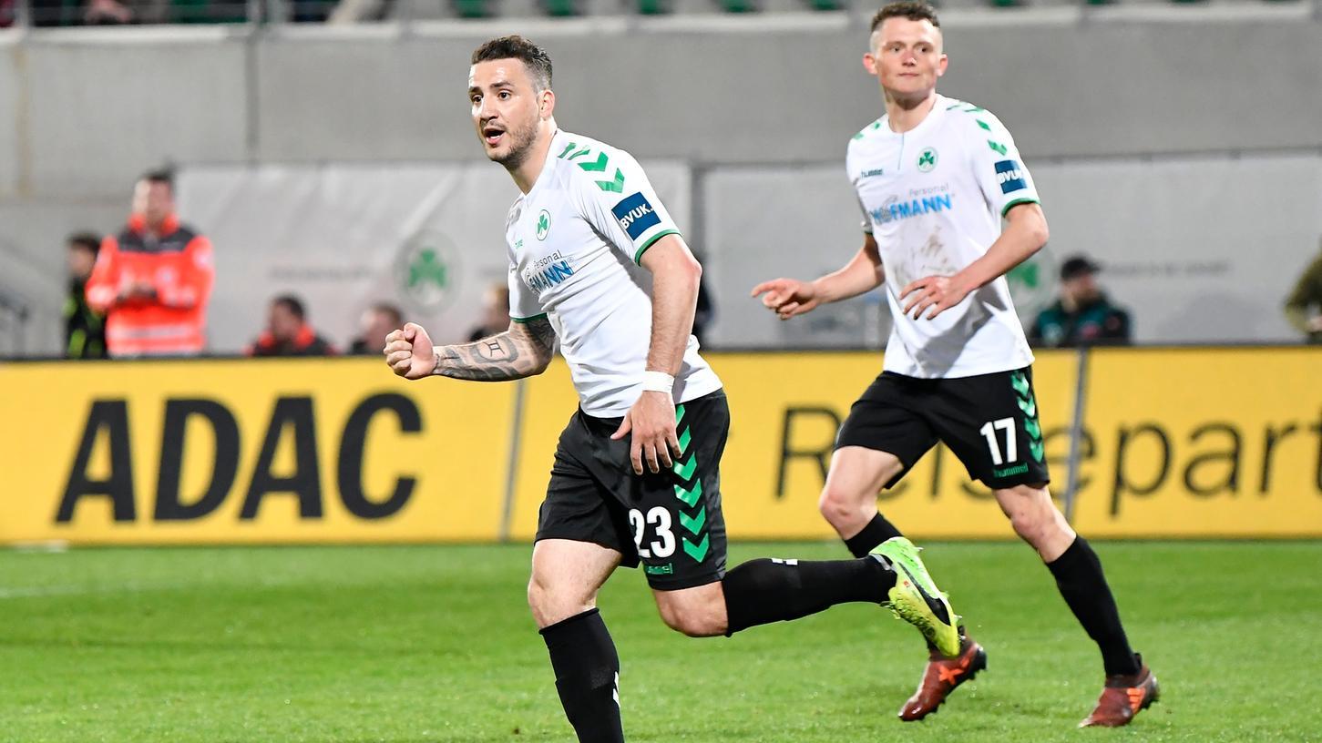 Nicht mehr im Fürth-Trikot: Sararer ab Januar bei Türgücü München.
