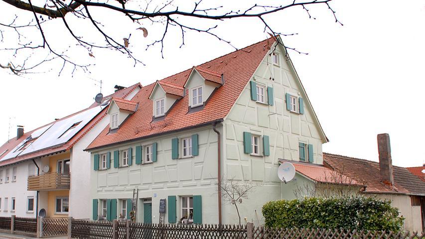 Als einer von sechs Kalchreuther Ortsteilen hat Käswasser auch Gasthof und Cafe zu bieten.