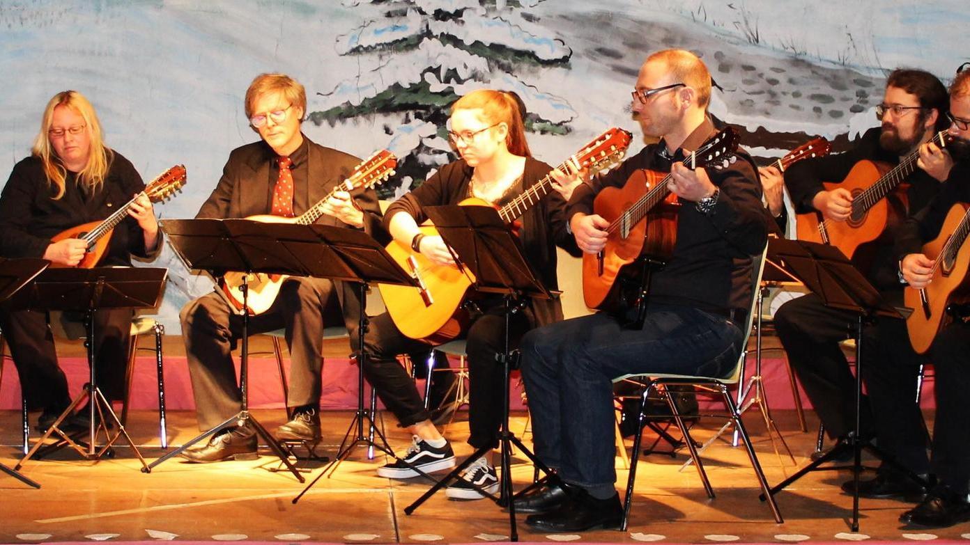 """Sorgte für Wohlklang: """"musica a corda"""" beim Weihnachtskonzert."""