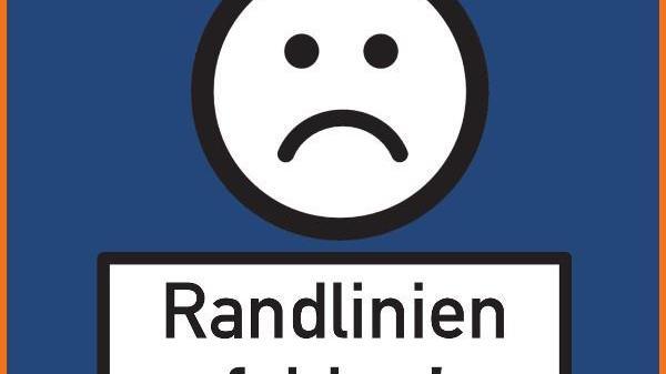 Mit einem traurigen Smiley soll auf die Aktion aufmerksam gemacht werden.