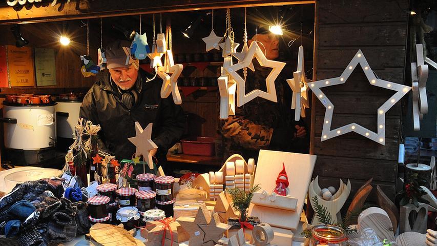 Oh, du Fröhliche: Weihnachtsmarkt in Neunkirchen