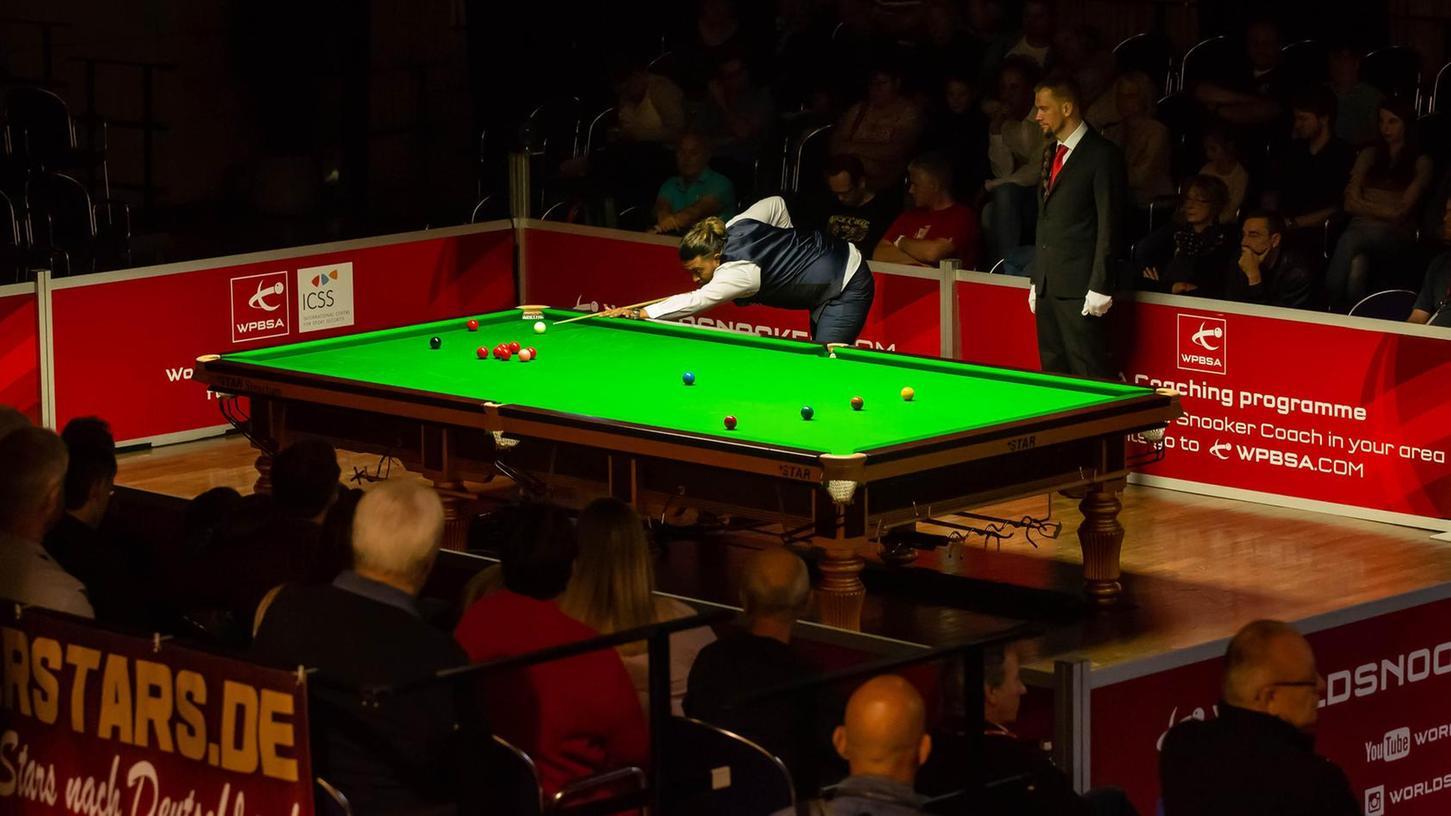 Das Interesse an Snooker in der Fürther Stadthalle ist hoch – die Nachfrage nach Tickets für die Neuauflage 2019 ist bereits groß.