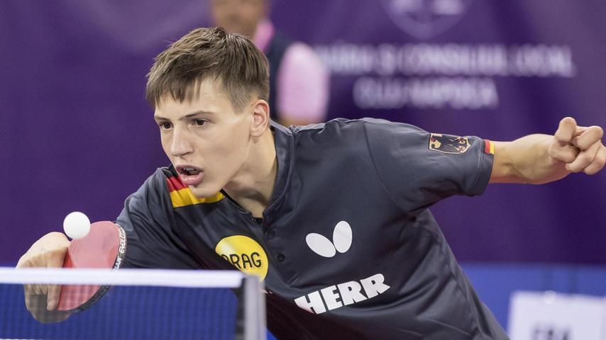 Spielte bei der Jugend-Europameisterschaft im Tischtennis. Hier geht's zum Portrait.