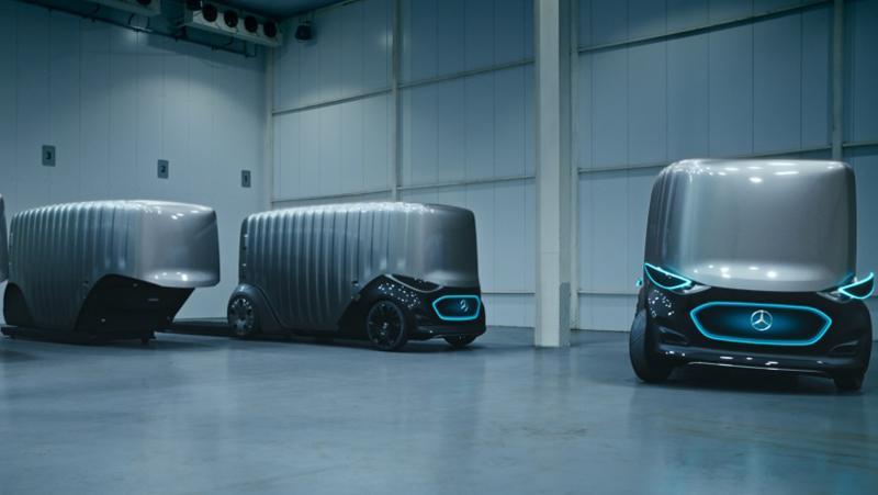 Wie ein Container auf Rädern: Die Cargo-Version des Urbanetic ist für den lautlos-elektronischen Gütertransport konzipiert.