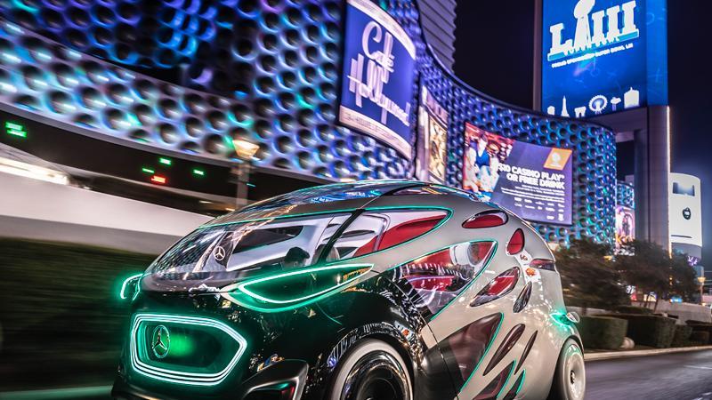 CES Las Vegas: Autos auf der Elektronikmesse