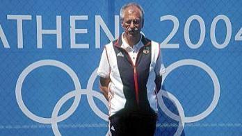 Auch in Athen durfte sich Albert Güßbacher über Erfolge seiner Patienten freuen, Peking soll nun das krönende Schlusslicht seiner Olympia-Karriere werden – vielleicht.