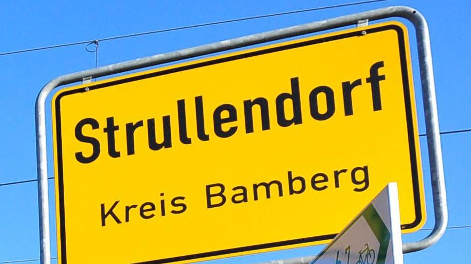 Strullendorfer Ortsschild