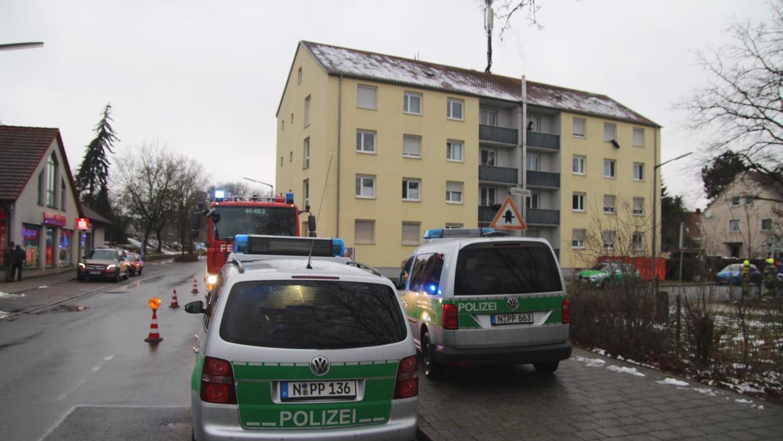 Ein Großaufgebot an Rettungskräften war am Samstagnachmittag in der Lilienstraße im Einsatz.