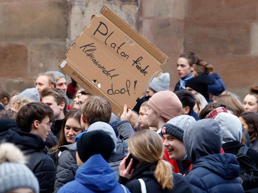 LOKALES Foto: Eduard Weigert Datum: 18.1.19..Schule schwänzen fürs Klima