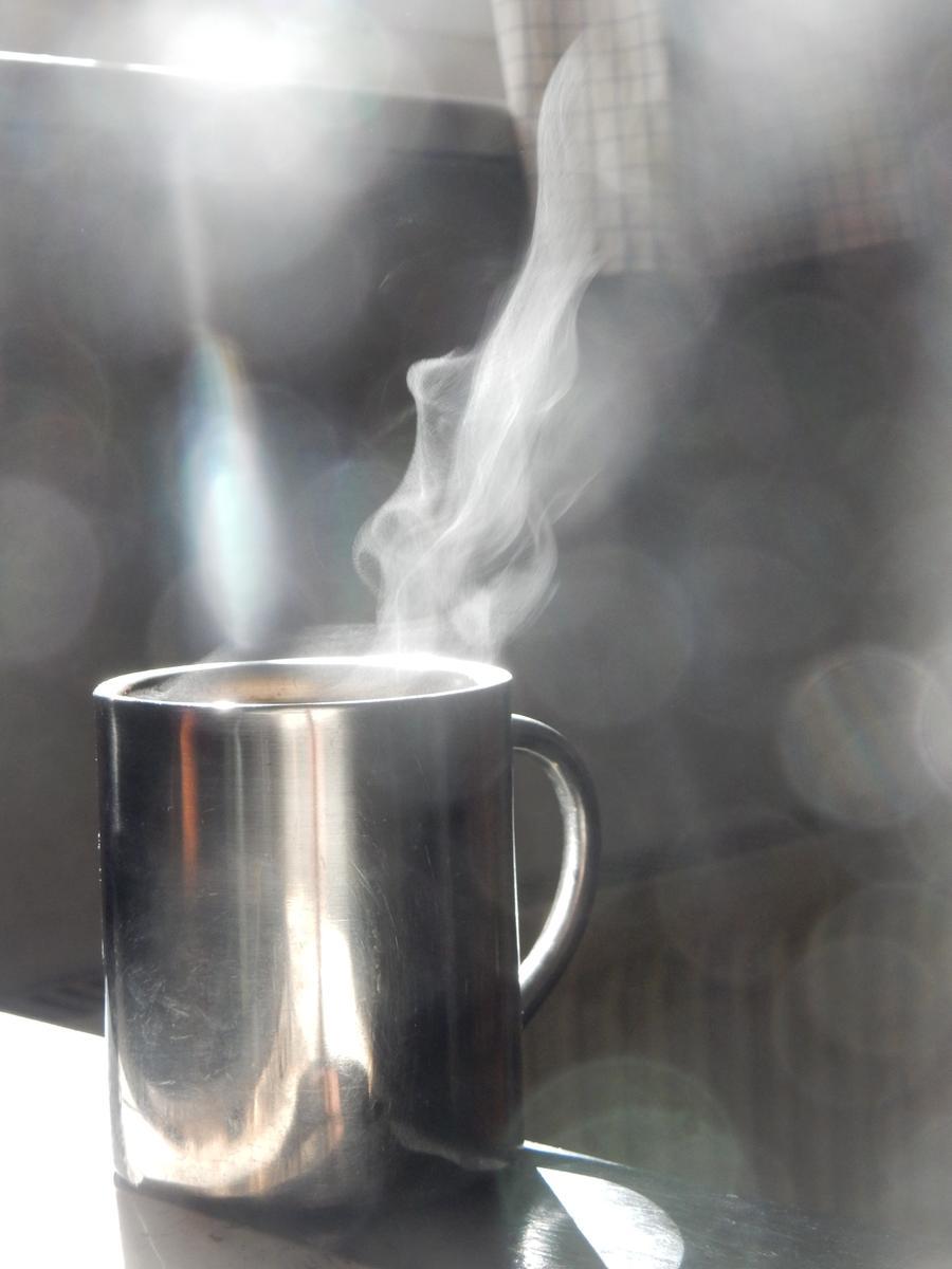 Eine Tasse Tee, Kaffee oder Suppe kann in diesen Tagen Wunder wirken - Hauptsache heiß!
