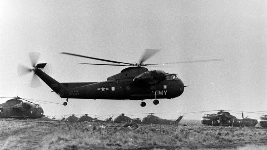 Die dicken Brummer in der Luft wurden zum Truppen- und Materialtransport eingesetzt.