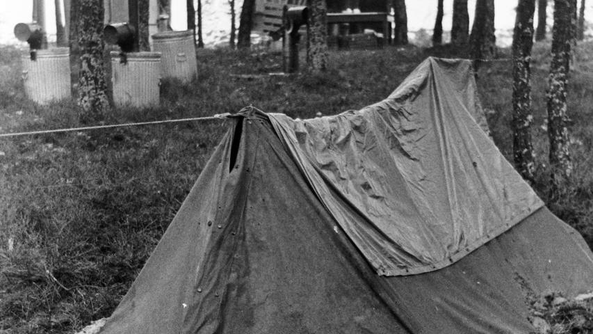 In den Wäldern um Auerbach schlugen die Soldaten ihre Feldlager auf.