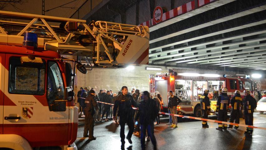 Von Bahn erfasst: Jugendliche sterben am Frankenstadion
