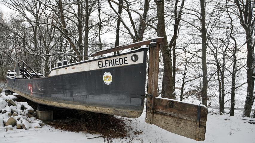 Das Treidelschiff