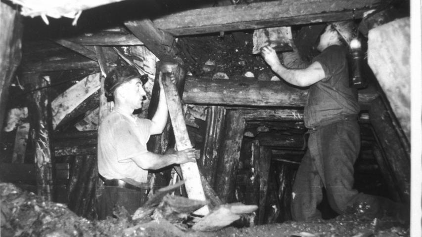 Wie in Franken in großem Stil Steinkohle abgebaut wurde