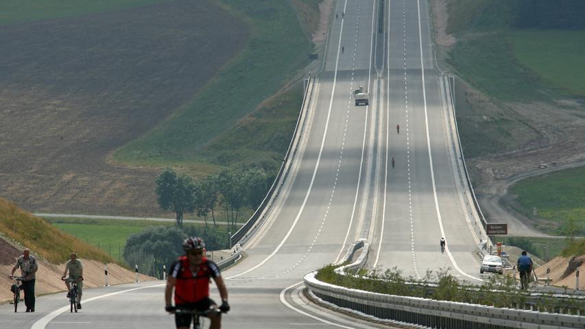 Was lange währt: Wie der Frankenschnellweg zur A73 wurde