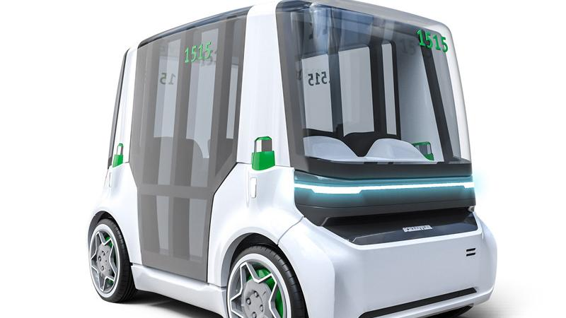 Der Mover verfügt über ein kompaktes, an allen vier Rädern verbautes Antriebsmodul (