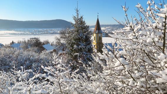 Winteridyll in Treuchtlingen, Bubenheim, Wettelsheim, Graben, Möhren und Langenaltheim