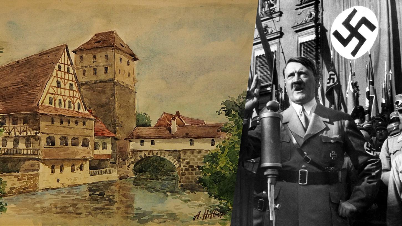 Unter den Stücken sind auch einige, die Nürnberger Motive zeigen.