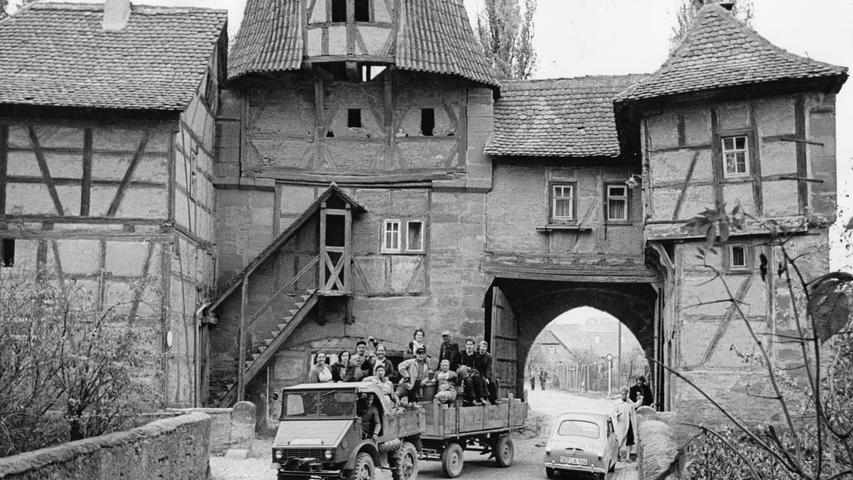 In den fränkischen Weindörfern ging im Oktober 1959 eine