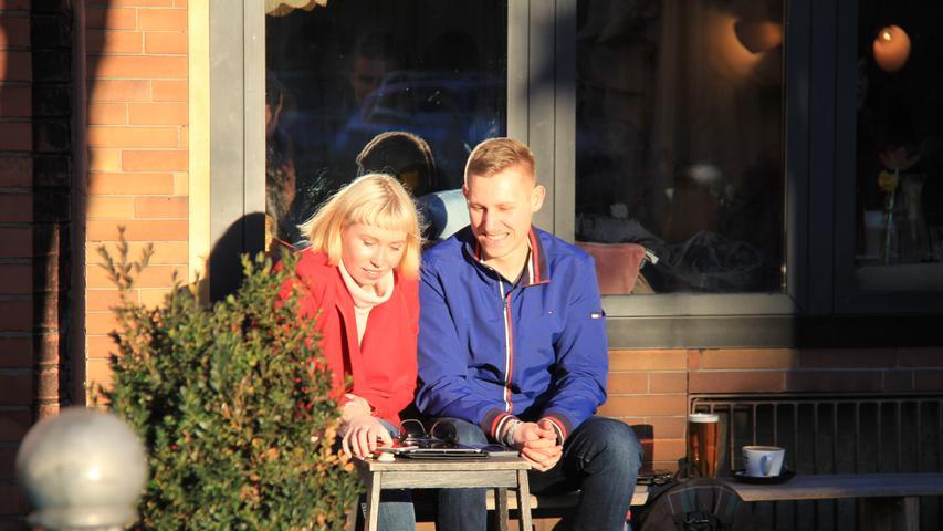 Juhu, Sonne! Nürnberg freut sich über die ersten warmen Tage