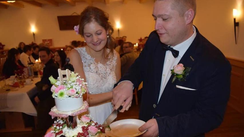 Steffi und Sven aus Leutenbach haben am 22. Dezember 2018 geheiratet.