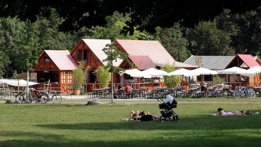 Picknick in Nürnberg: Wo Gestresste und Verliebte Pause machen