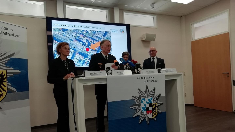 Auf einer Pressekonferenz am Montag in Nürnberg nannten die Ermittler Details zu dem Angriff am Wochenende.