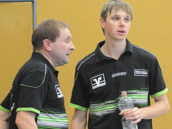 """Eschenbacher """"Rechenkünstler"""": Markus Seitz (rechts) und Helmut Frey."""