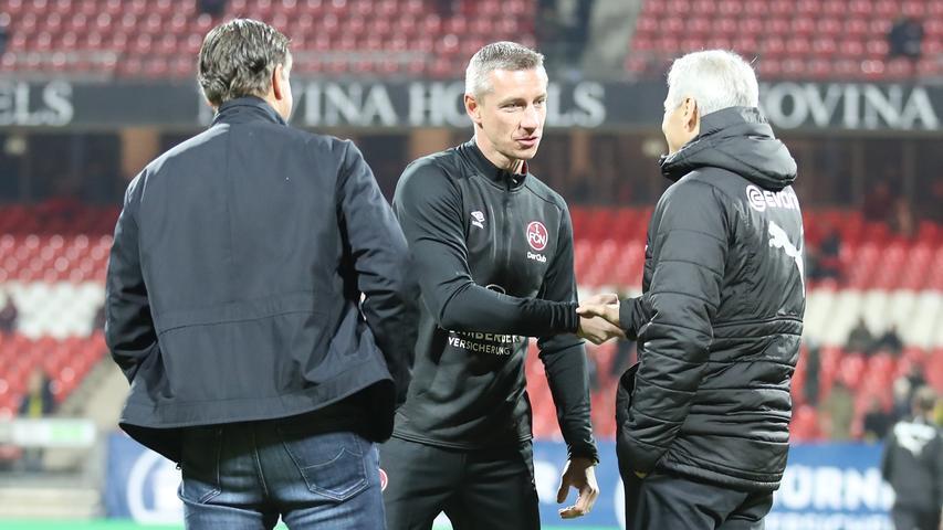 Fokus auf die Trainerbank: Das Club-Debüt von Schommers und Mintal