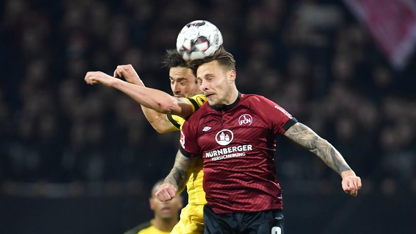 Punkt gegen Dortmund! Kampfstarker FCN überrascht Spitzenreiter