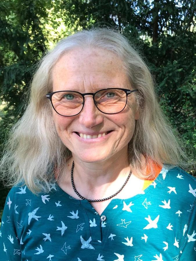 Gartenfachberaterin Renate Haberacker.
