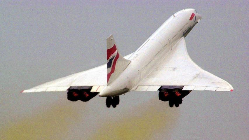 Concorde - Mit doppelter Schallgeschwindigkeit um die Welt