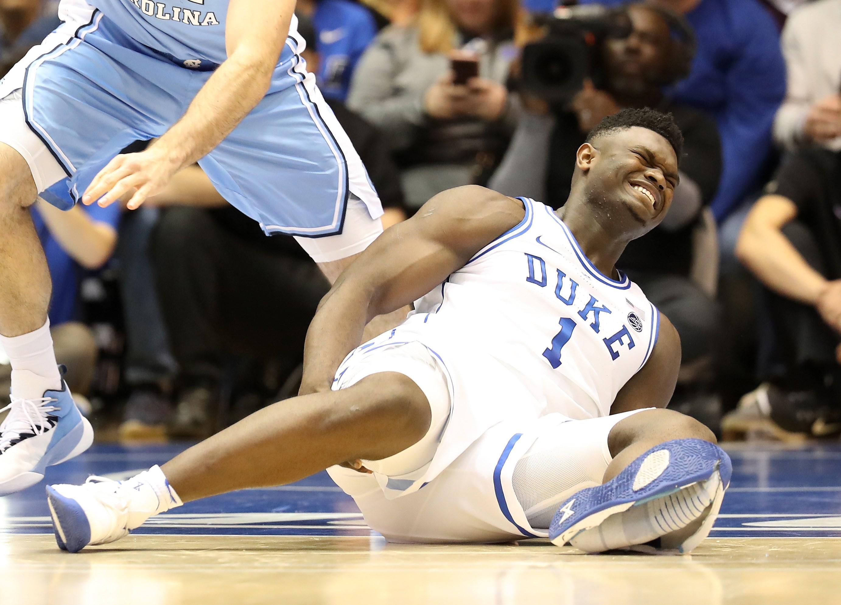 Zion Williamson: Wie konnte der Nike Schuh einfach so