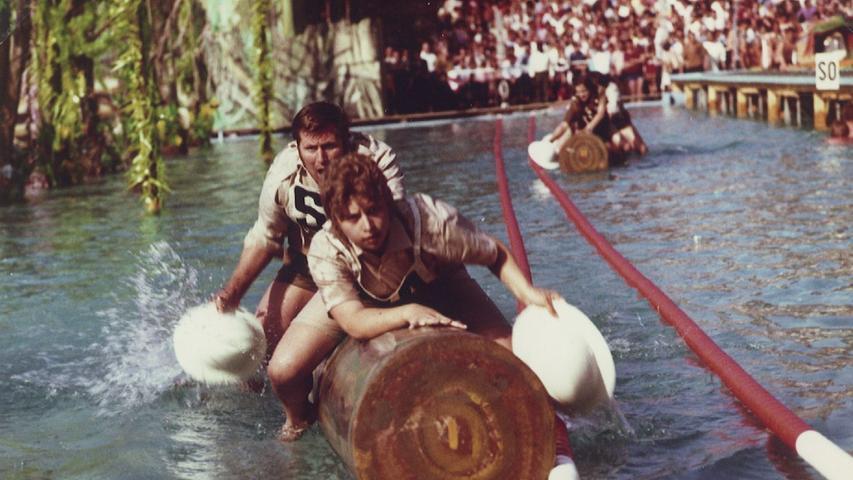 Das Spiel ohne Grenzen im Schwabacher Parkbad anno 1971
