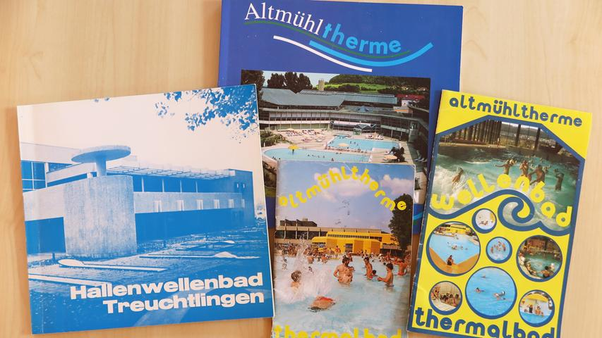 Altmühltherme Treuchtlingen historisch 1973-1998 Patrick Shaw 28.02.2019