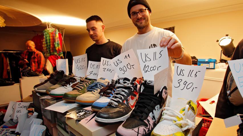 1200 Euro für Treter: So war die Sneaker-Messe 2019 in Nürnberg